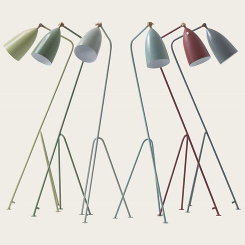 Deckenlampe Lisbeth Dahl Metall Grau Vintage Pendelleuchte Lampe skandinavisch