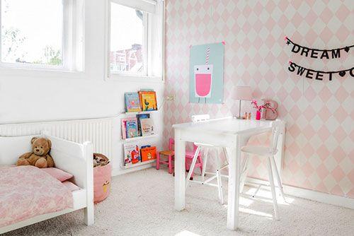 Ideeen Roze Kinderkamer : Roze meisjeskamer van bebèl interieur inrichting lisa kamer
