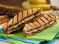 Grilled Banana and Nutella Panini