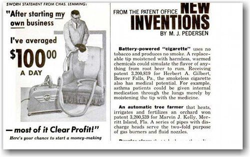 an interview with the inventor of the electronic cigarette herbert
