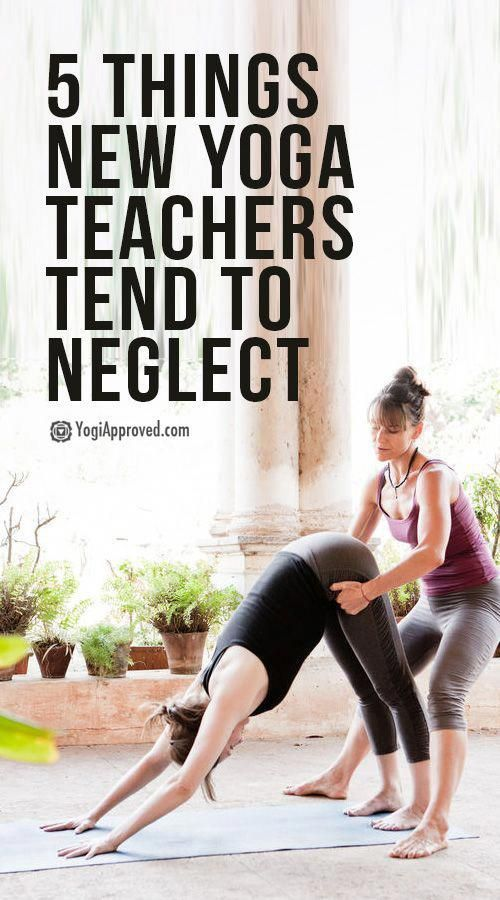 5 Things Yoga Teachers Tend to Neglect (Don't Let This Be You!) | YogiApproved #health #fitness #yog...
