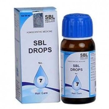 SBL DROPS NO 7 #homeopathic #medicines #herbal #products