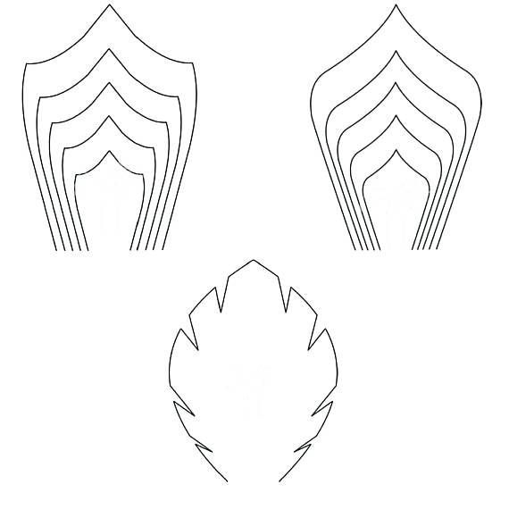 large templates