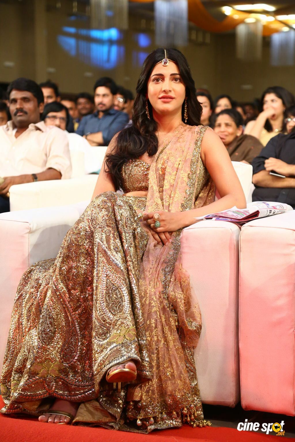 Shruti Haasan at Puli Audio Launch (2) | Shruti hassan in