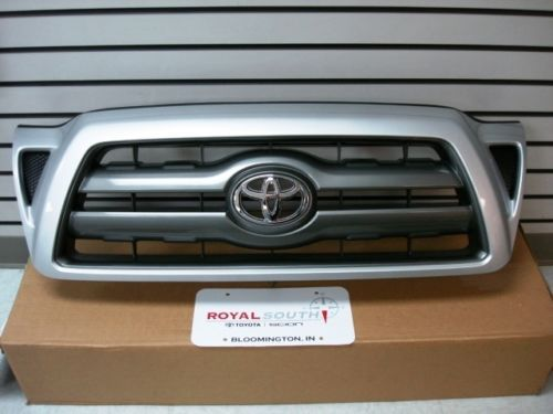 Toyota Tacoma Painted Silver 1e7 Sport Grille Genuine Oem Oe Toyota Tacoma Tacoma Toyota