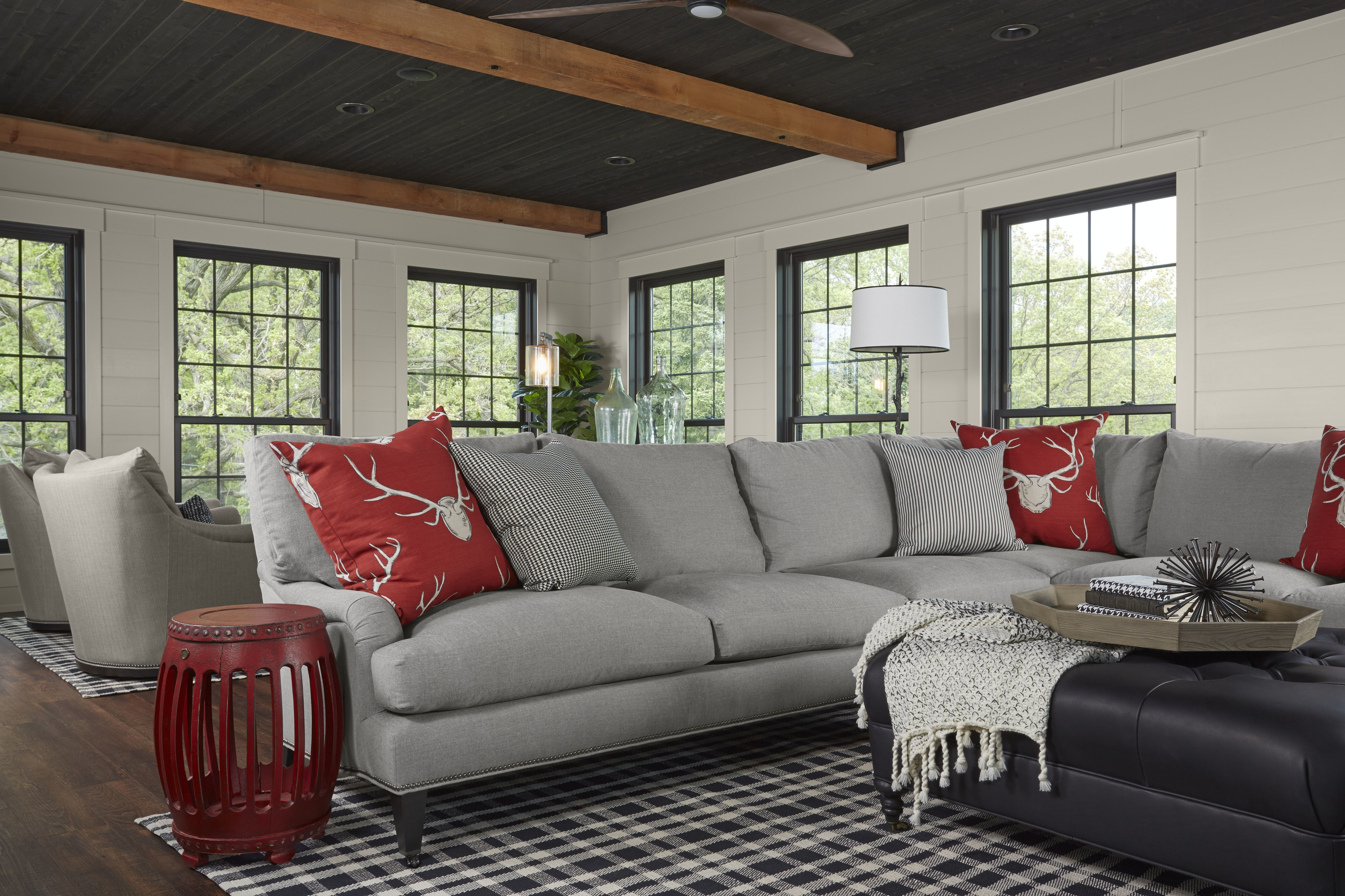Industrial Chic Family Room Living Room Pinterest