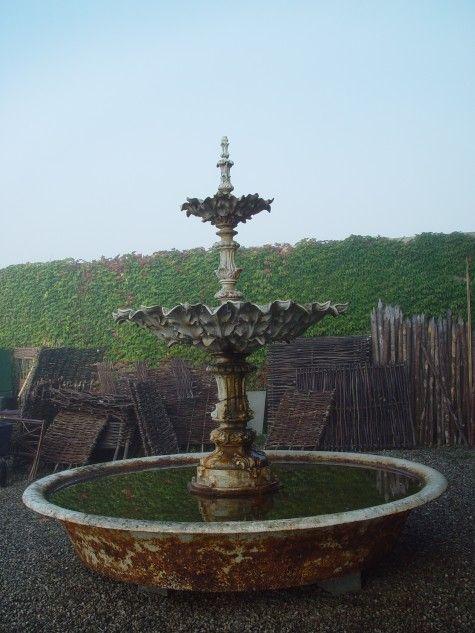 French Antique Fountain Garden Antique Loves Garden