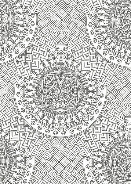 Mandala Wonders Color Art For Everyone Coloring Book Leisure Arts