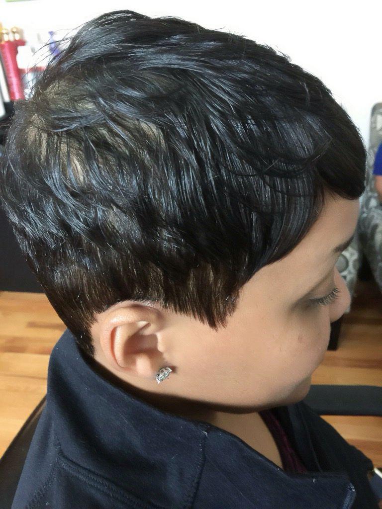 Natural hair hairstyling by raijona short hair in pinterest