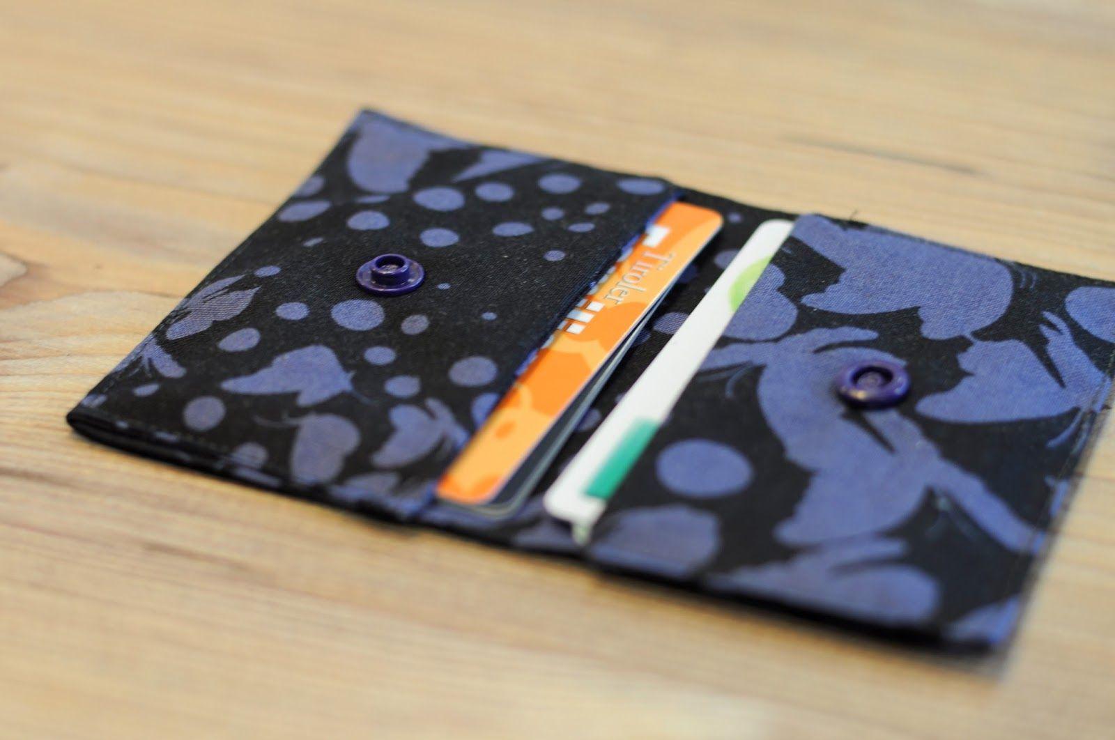 Kartentäschchen Visitenkartentasche