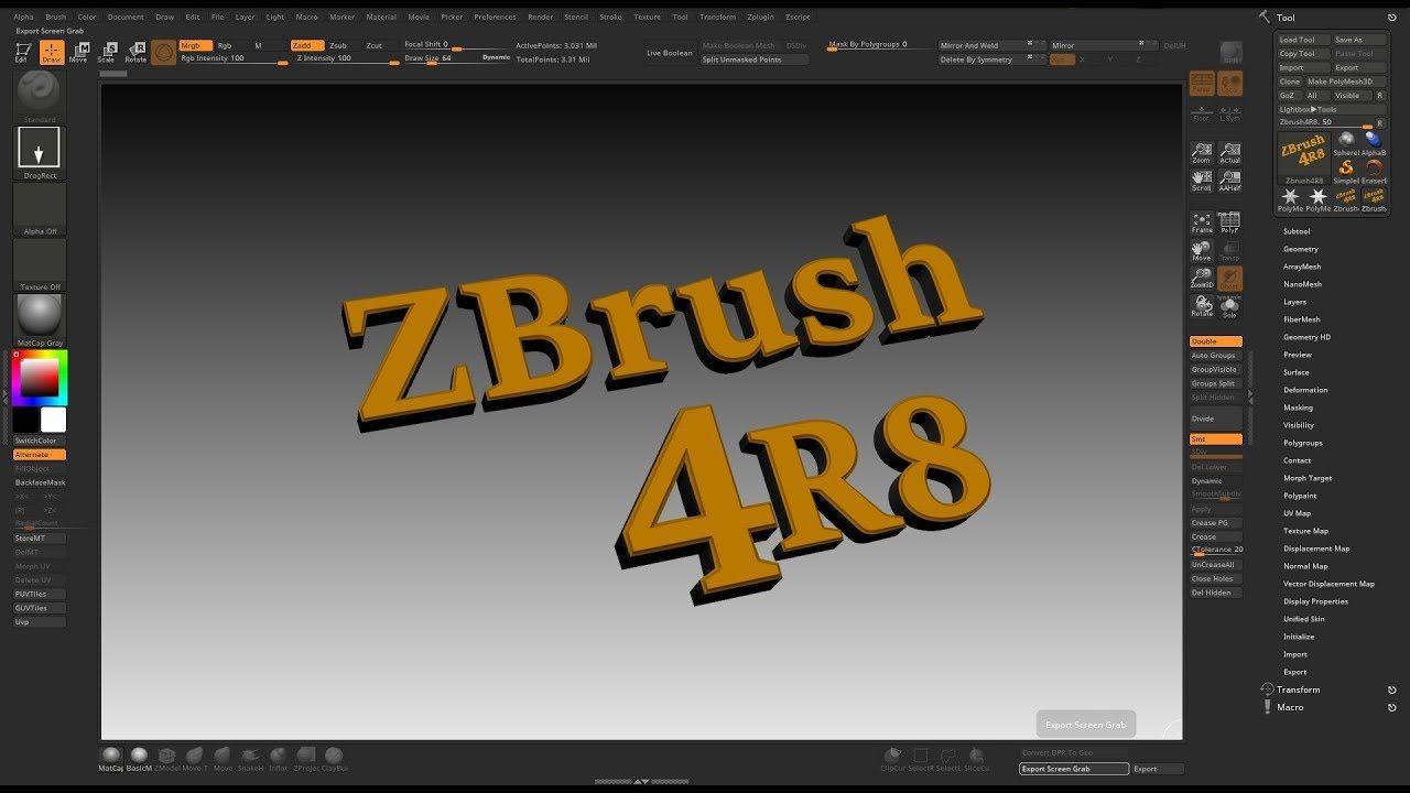 Zbrush 4R8 Customize UI | Zbrush Sculpting | Zbrush, 3d