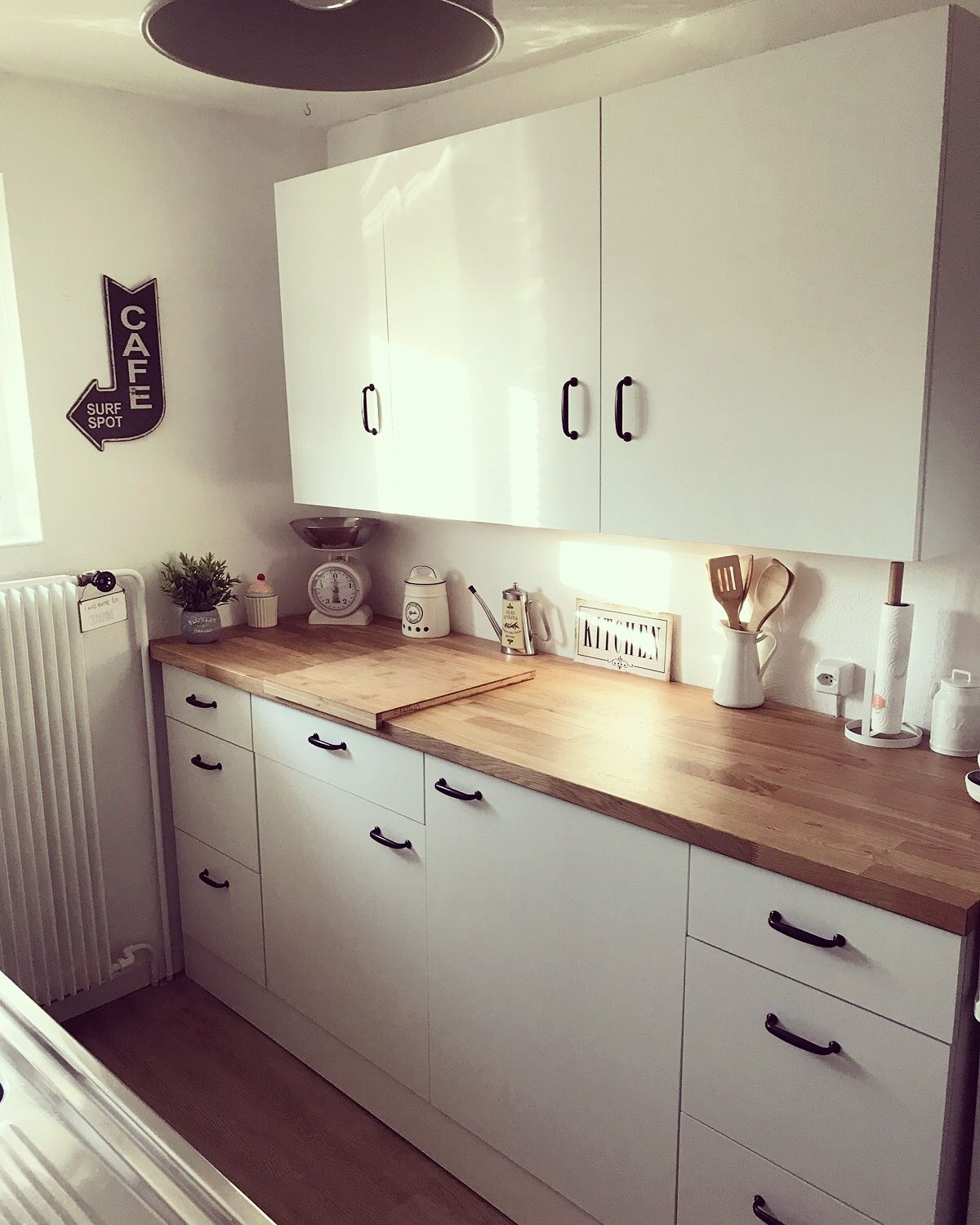 Kleine Küche Ideen Ikea Küche Ikea Knoxhult Karlby Home In 2019 Ikea Kitchen Kitchen