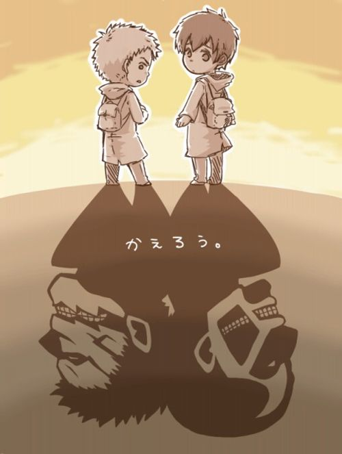 Reiner and Bertoldt  I used to love Reiner even though I