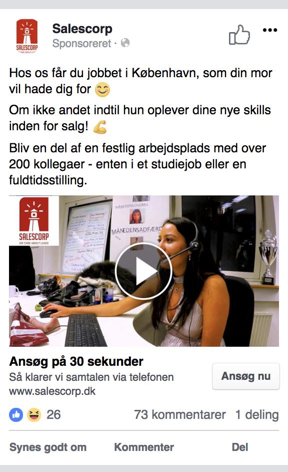 Rekruttering Det Er Muligt At Rekruttere Unge Via Annoncer Pa Facebook Hvis Man Finder Den Rette Vinkel D Anno Facebook Emoji Og Annoncer