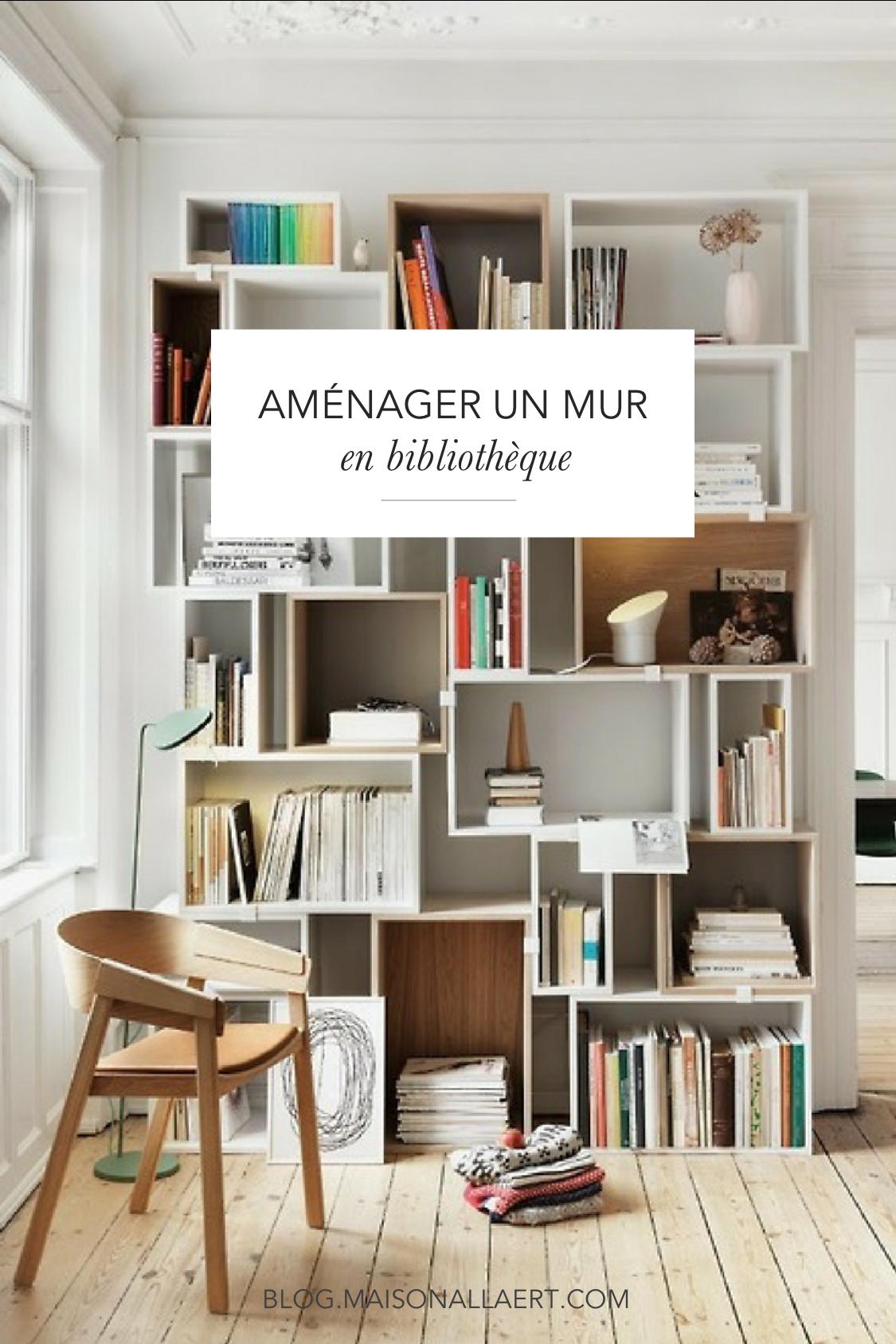 Amenager bibliotheque murale bureau pinterest mobilier de salon bibliotheque modulable et - Etageres pour salon bibliotheques bureau ...