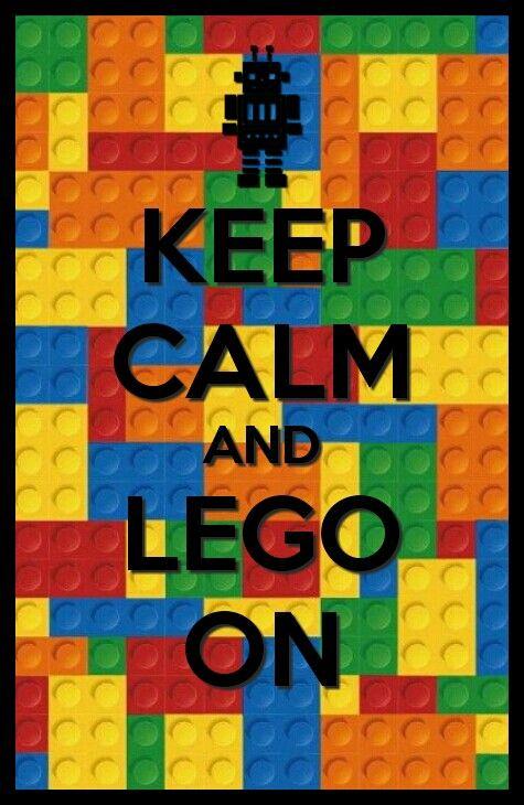 Keep calm lego