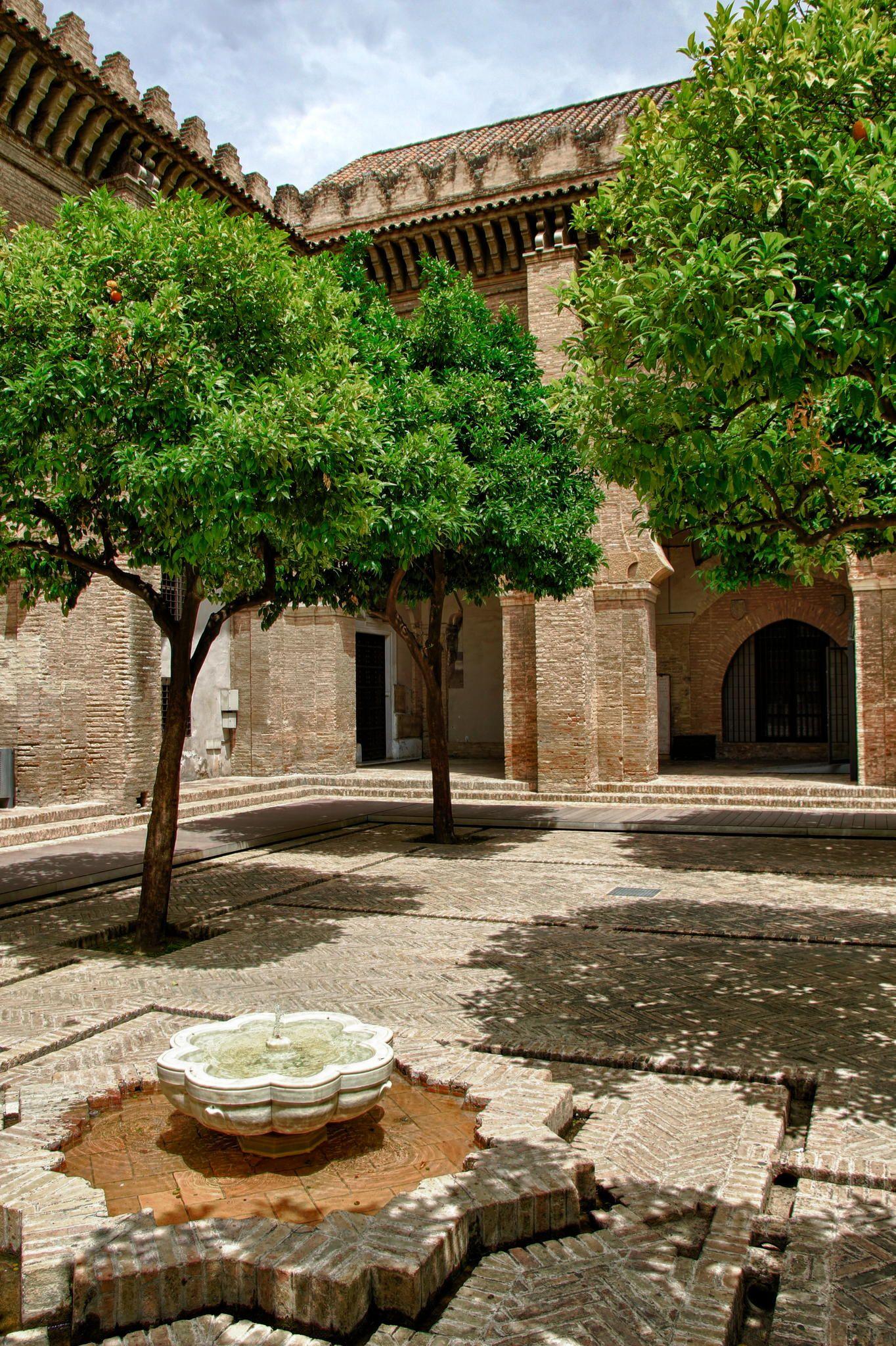 Courtyard Seville by Alexander Zonneveld on 500px