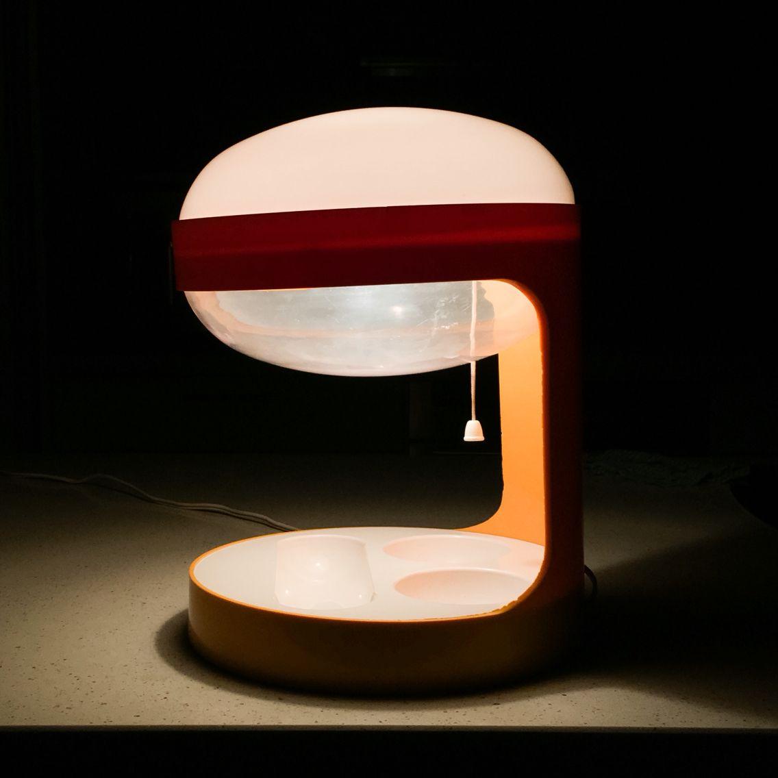 KD29 Desk Lamp 1967 Joe Columbo for Kartell | | lighting | | Pinterest