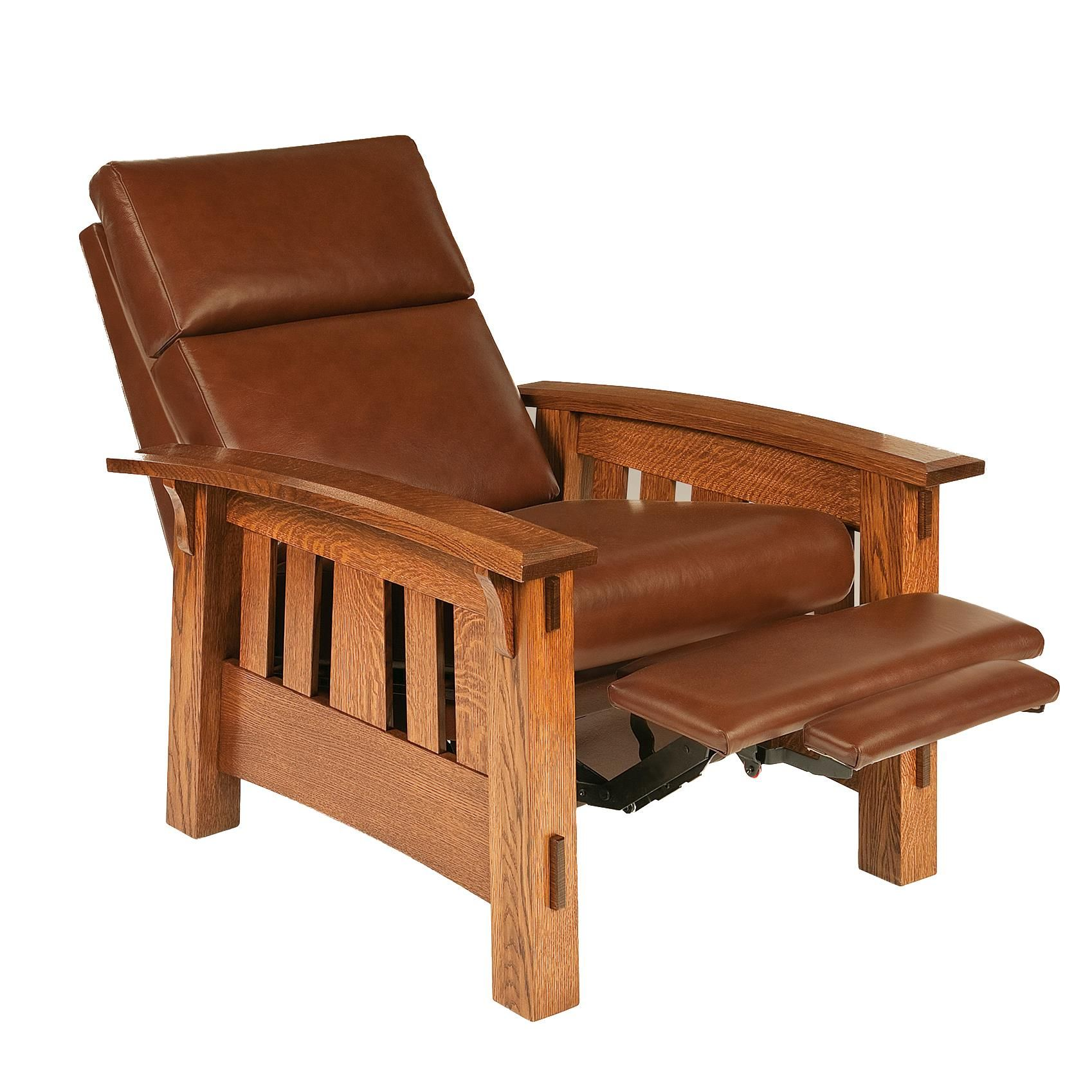 Mission Mccoy Recliner With Optional Power Recliner Mission Furniture Craftsman Furniture Mission Style Furniture
