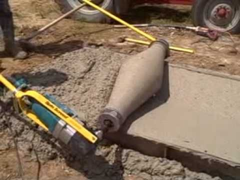 Custom Curb High Quality Youtube Concrete Diy Concrete Tools Concrete Projects