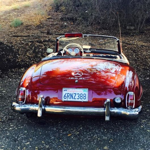 Mercedes Benz #190SL. Pic Roman A Oulko Los Angeles