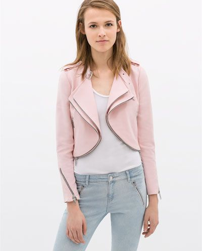 4d1a2983 Pin by Maggie Godsil on Style accordingly...   Pink jacket, Fashion ...