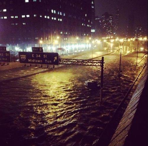 Photo, Hurricane Sandy, Flood