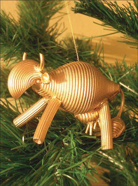 Krowka Ozdoby Z Makaronu Czas Dzieci Pasta Art Pasta Crafts Christmas Diy