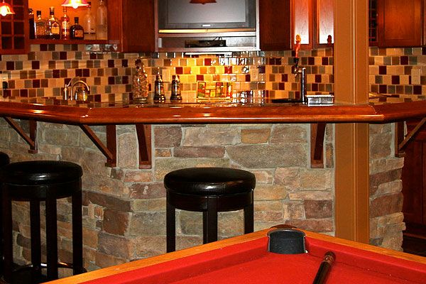 Basement Bar Pool 30 Magnificent Basement Bar Ideas