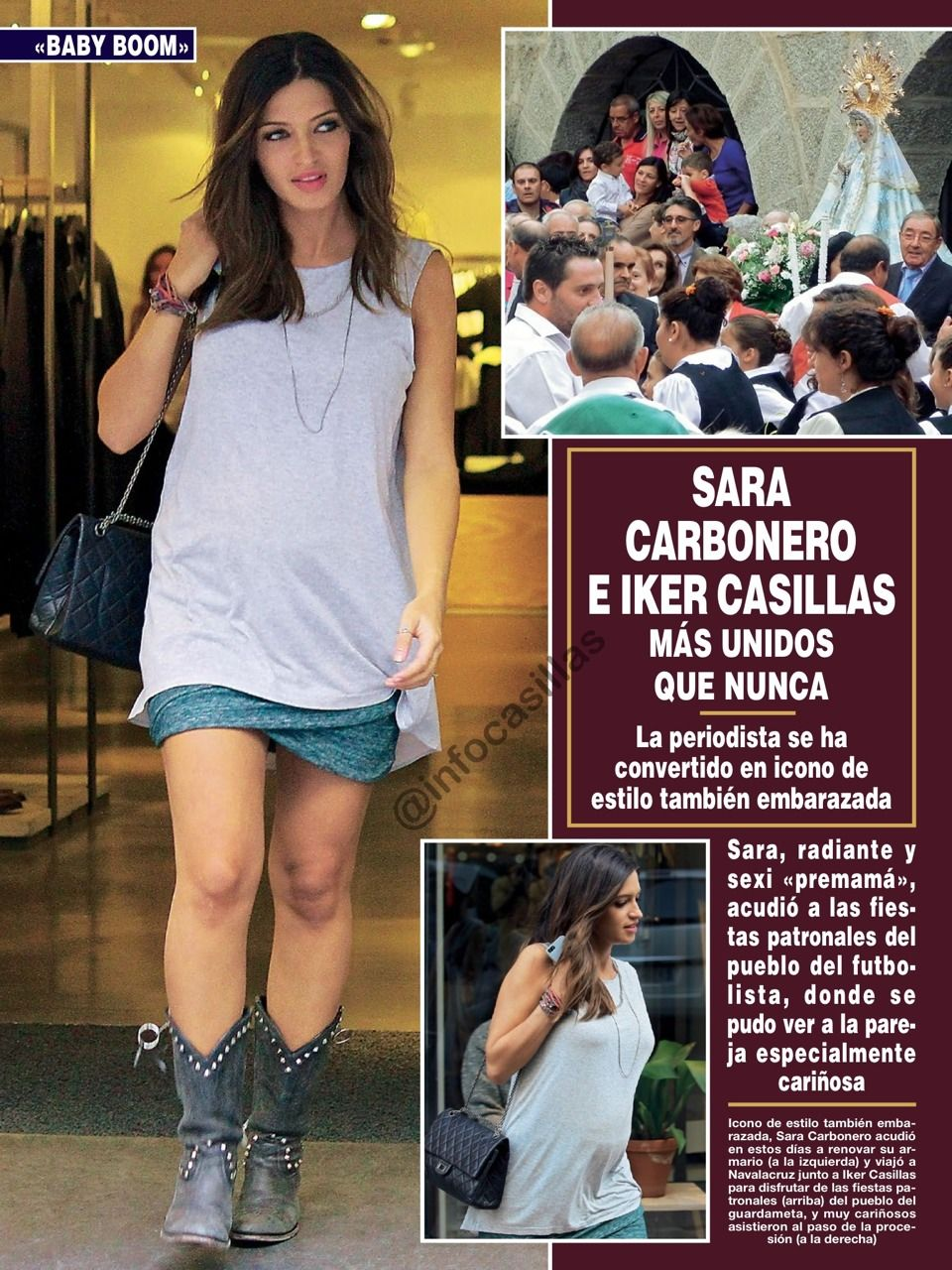 620d01636 pregnant and still in style Sara Carbonero