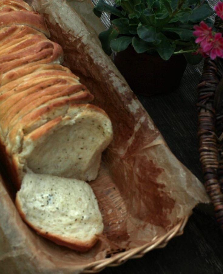 Photo of Herb butter spelled plucked bread – must not be missing for grilling!