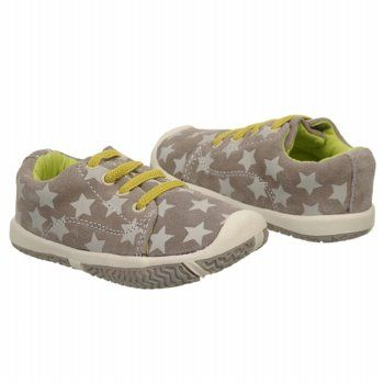 Morgan & Milo Infant LTT Slip On Stars Shoes (Grey Stars) - Kids' Shoes - 4.5 M