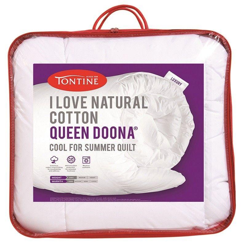 Tontine I Love Natural Cotton Doona 174 Quilts Duvet