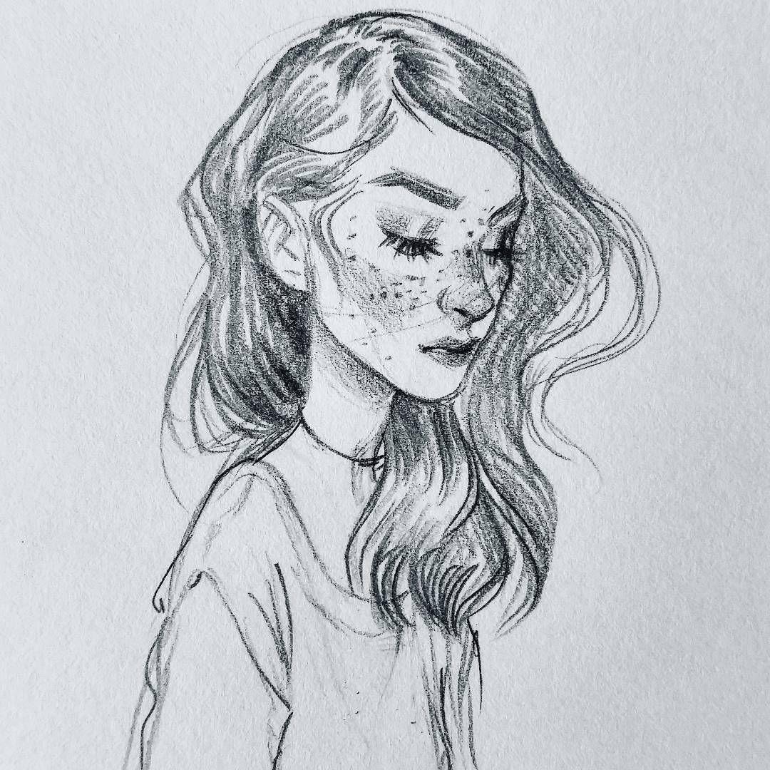 Art Drawing Sketch Sketchbook Sketchy Portrait Monochrome