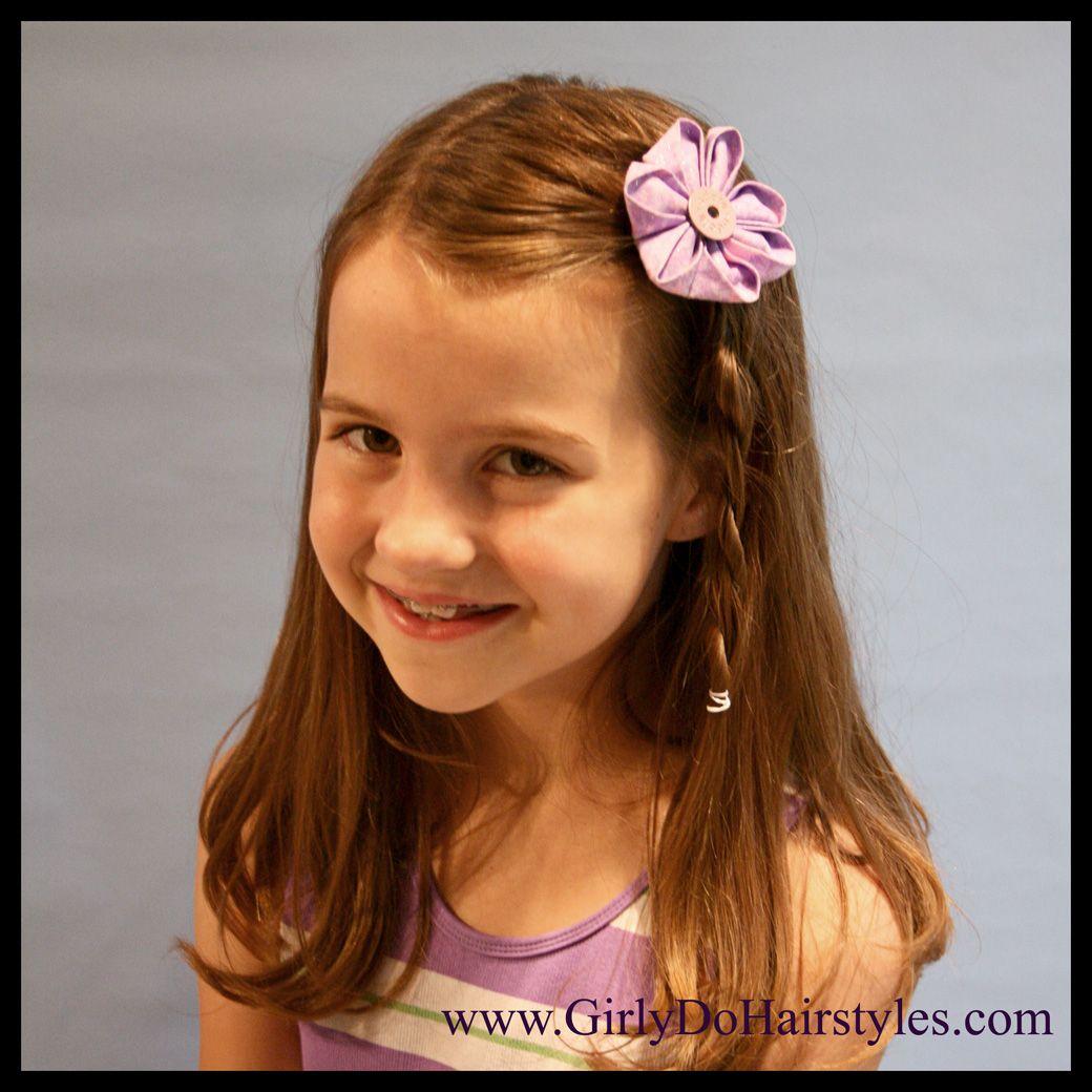 Kids Hairstyles For Wedding: Little Girl Hairdos