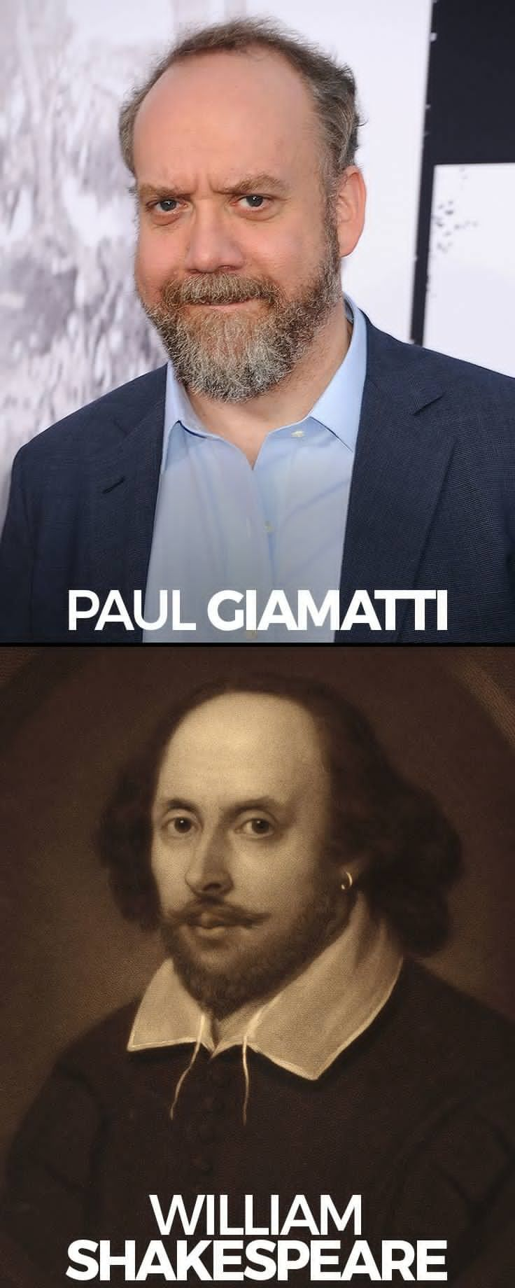 What the historical characters actually looked like