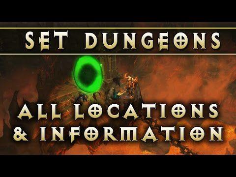 Diablo 3 Set Dungeon Locations Patch 2 4 Youtube Diablo 3