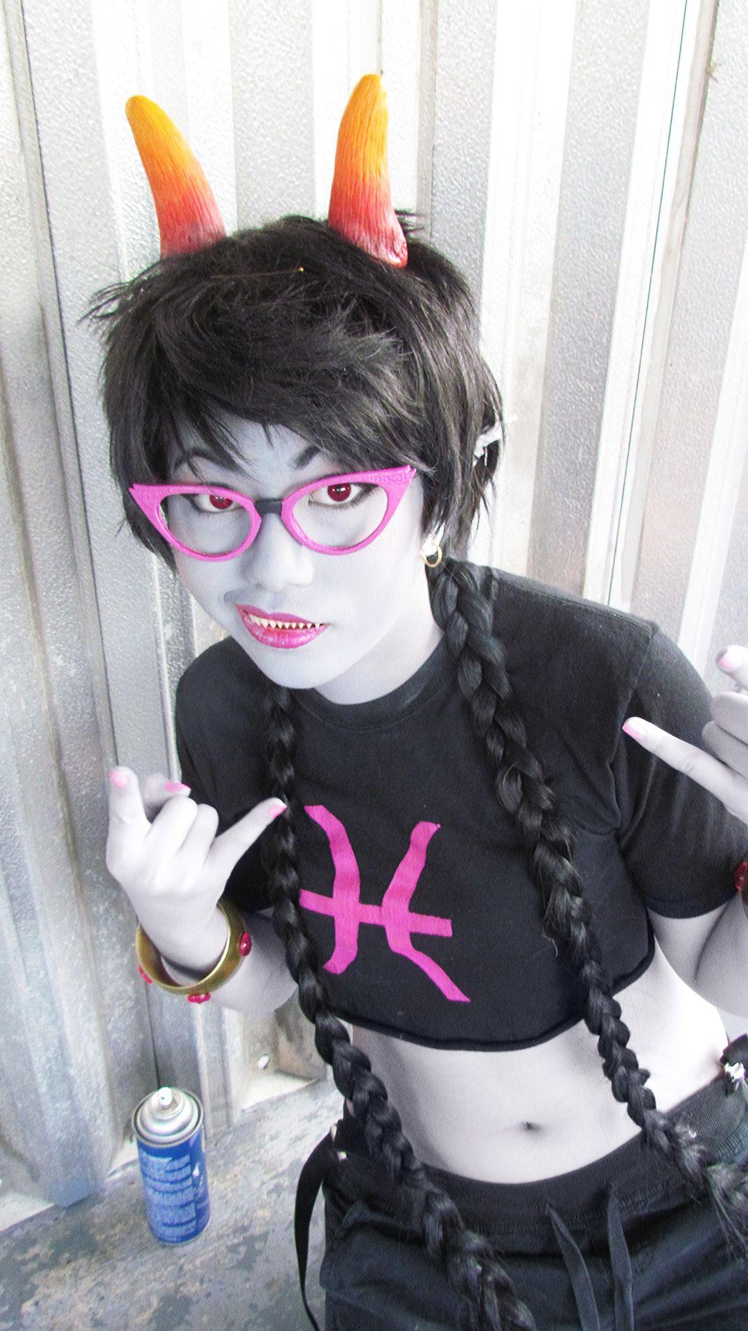 Homestuck Trolls Cosplay Meenah Peixes f...