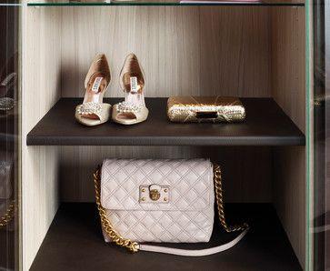 Handbag U0026 Shoe Display   Contemporary   Closet   Vancouver   California Closets  Vancouver