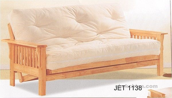 Wholesale WOODEN FUTON BED Made in China 129007 high school