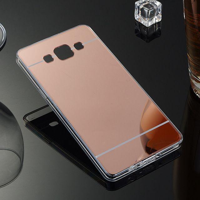 De luxe Placage Miroir Cas Pour Samsung Galaxy A5 2016 Cristal ...