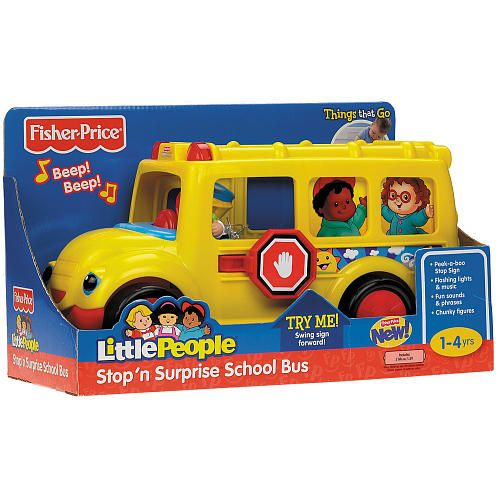 Received Fisher Price Little People Stop N Surprise