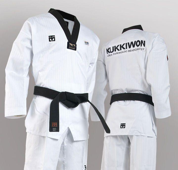 Mooto BS4.5 KUKKIWON Official Taekwondo Uniform WTF Dan Dobok TKD Martial Arts