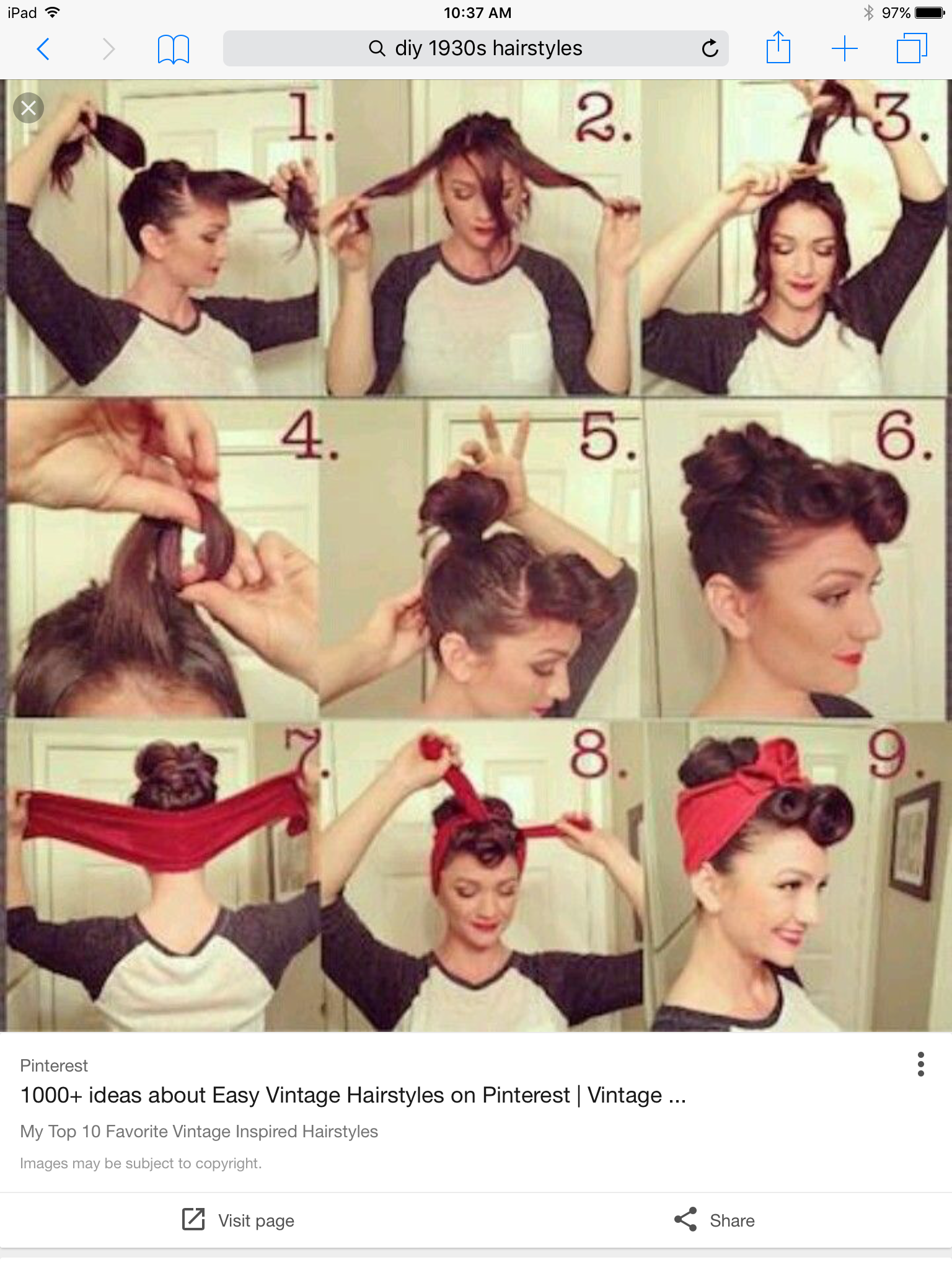 S hairstyle for project diy pinterest s