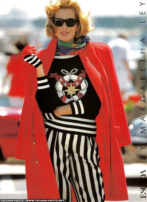 80s90sredux Fashion 80s And 90s Fashion Tatjana Patitz