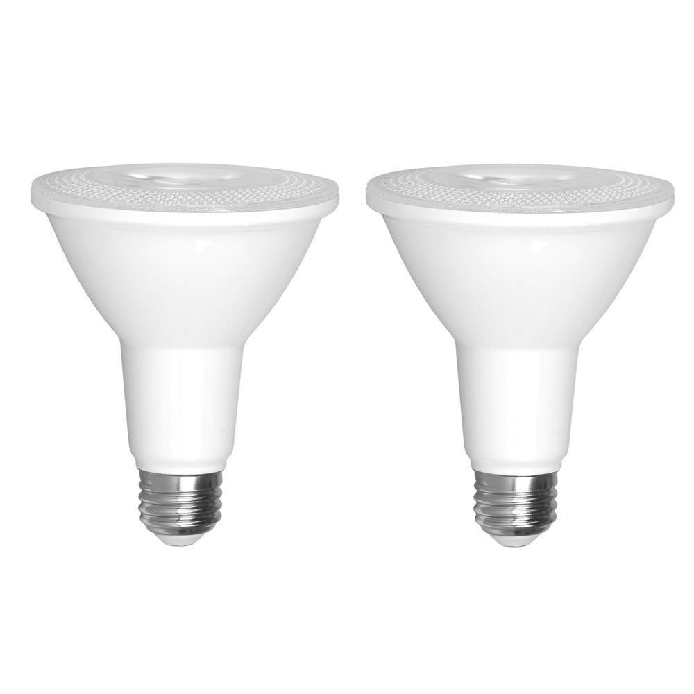 Euri Lighting 75 Watt Equivalent Par30 Dimmable Long Neck Led Light Bulb 2 Pack Dimmable Led Lights Light Bulb Led Flood Lights