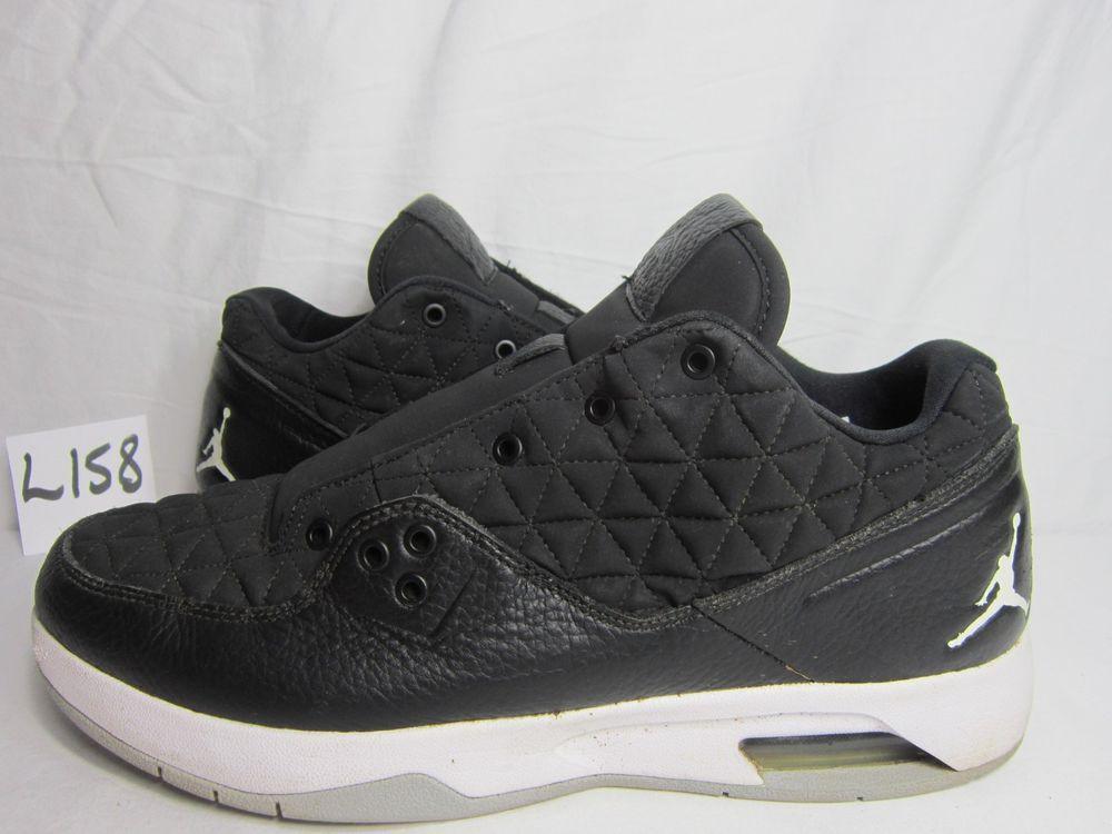 df5656d3596 Men s Nike Air Jordan CLUTCH Shoes Black White-Wolf Grey 845043-010 ...