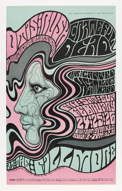 Poster Otis Rush 1967 Psychedelic Poster Rock Posters Psychedelic Art