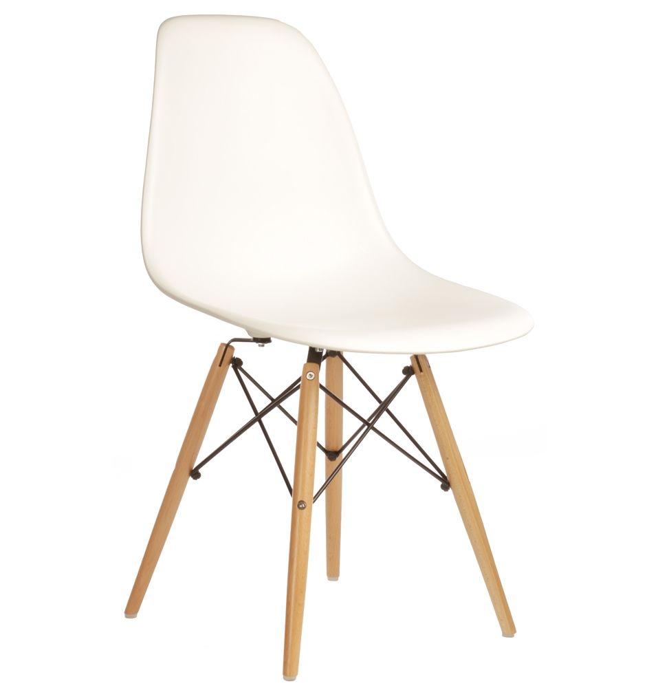 The matt blatt replica eames dsw side chair matte abs plastic by charles and ray eames matt blatt