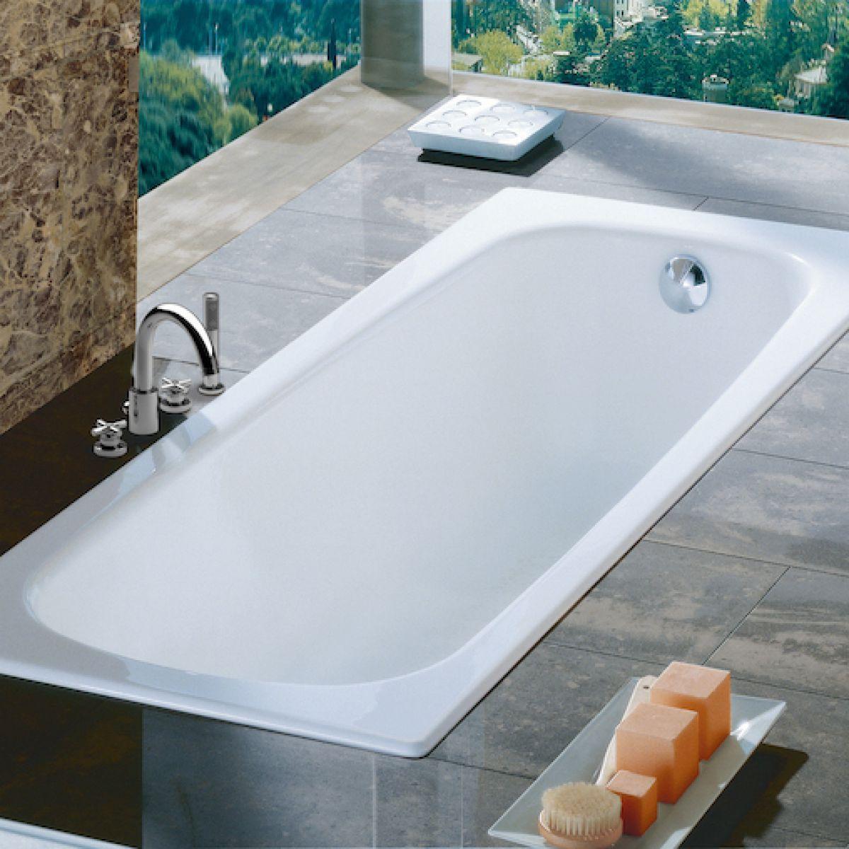Roca Contesa Standard Steel bath Steel bath, Bathroom